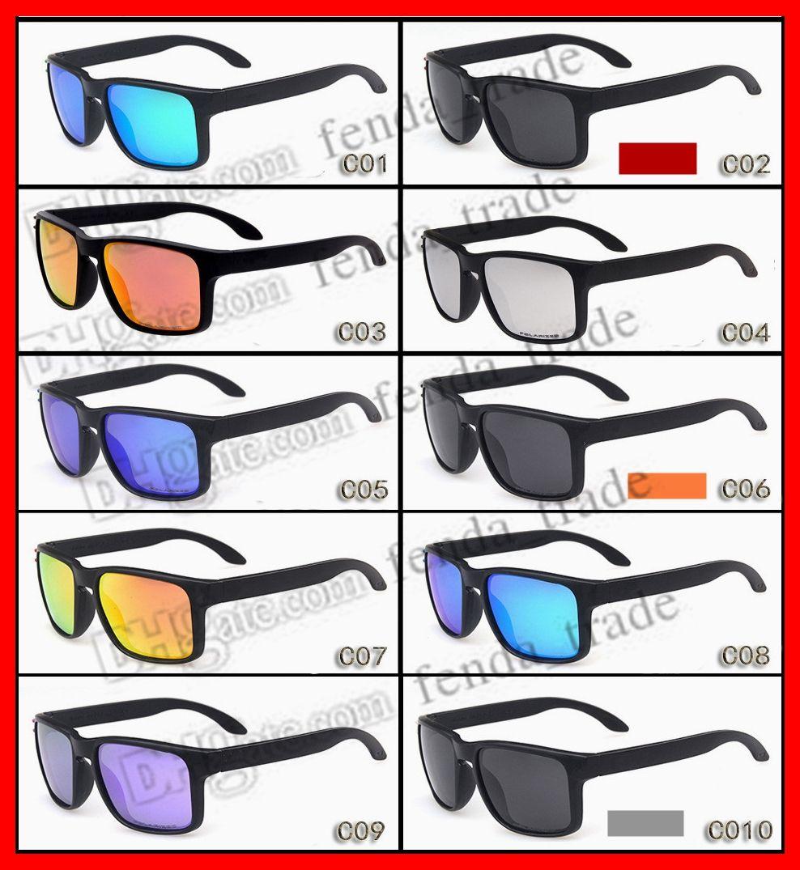 سعر المصنع جديد أزياء الرجال النساء الرياضة الاستقطاب نظارات الشمس نوعية جيدة مصمم الأزياء نظارات 10 ألوان النظارات الشمسية الجودة 10PCS