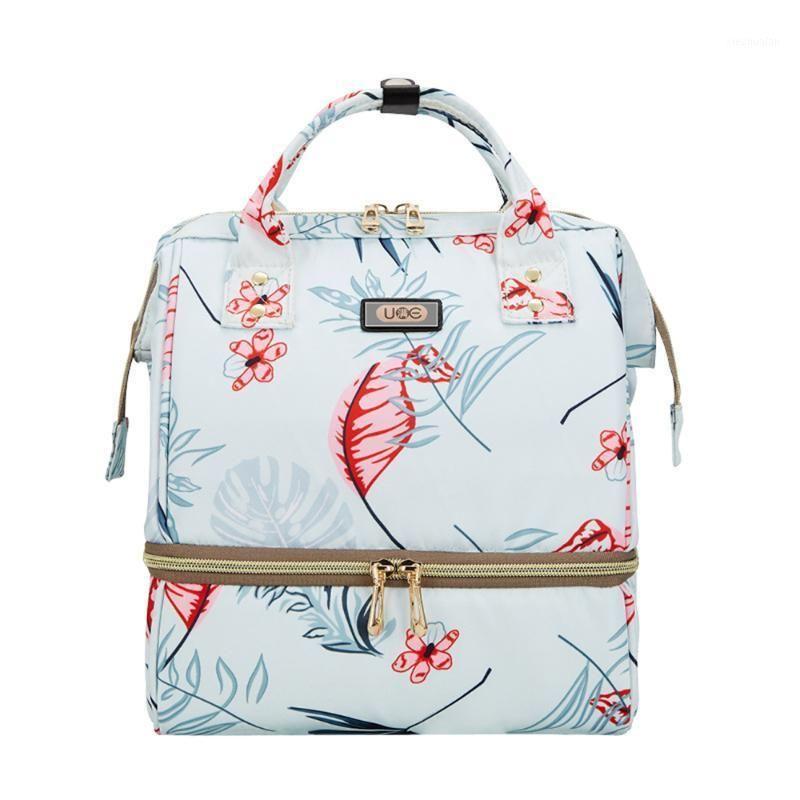 2020 Новый небольшой номерной подгузник сухое и влажное разделительное молоко утепленные сумки рюкзак женщины подгузник на заказ обед1