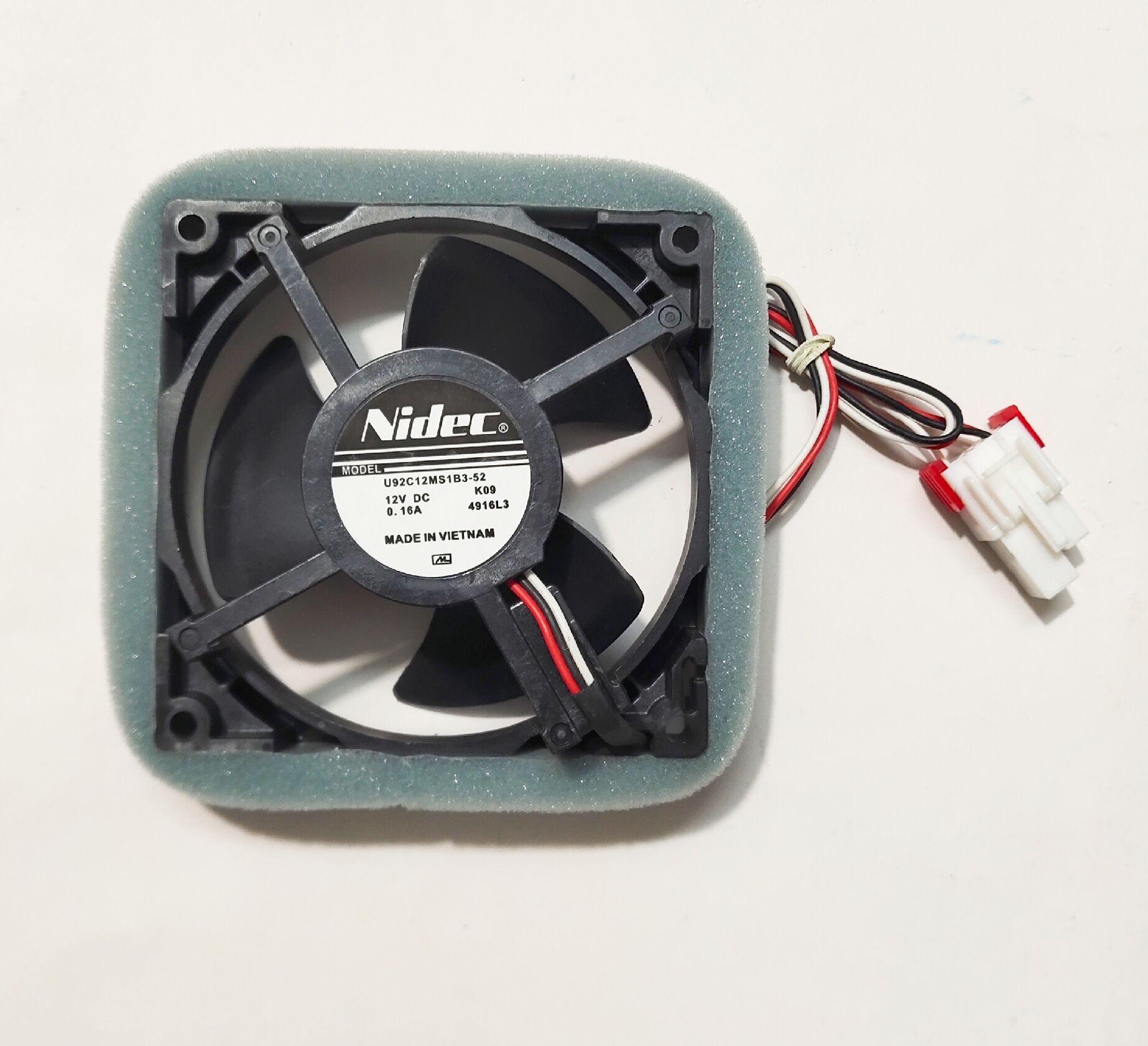 ventilateur de refroidissement réfrigéré New Original pour Nidec 9cm U92C12MS1B3-52 12V 0.16A refroidisseur imperméable à l'eau