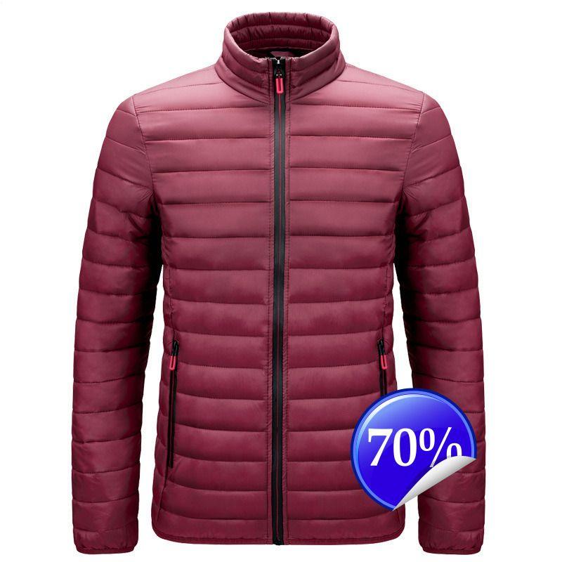 caldo inverno giacca esterna verso il basso di vendita di modo degli uomini GJC6ABdB