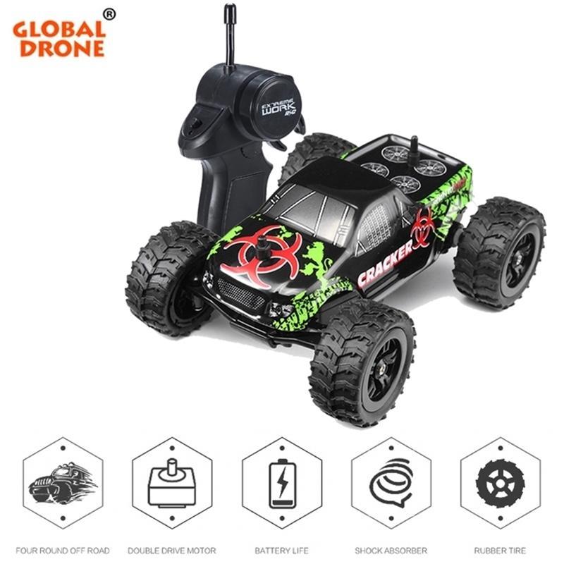Fernbedienung Auto 2.4G 1/32 Off Road Auto Crawler Buggy Radio Controllt Autos Mini Coche RC Auto Spielzeug für Jungen Geschenke für Kinder 201223