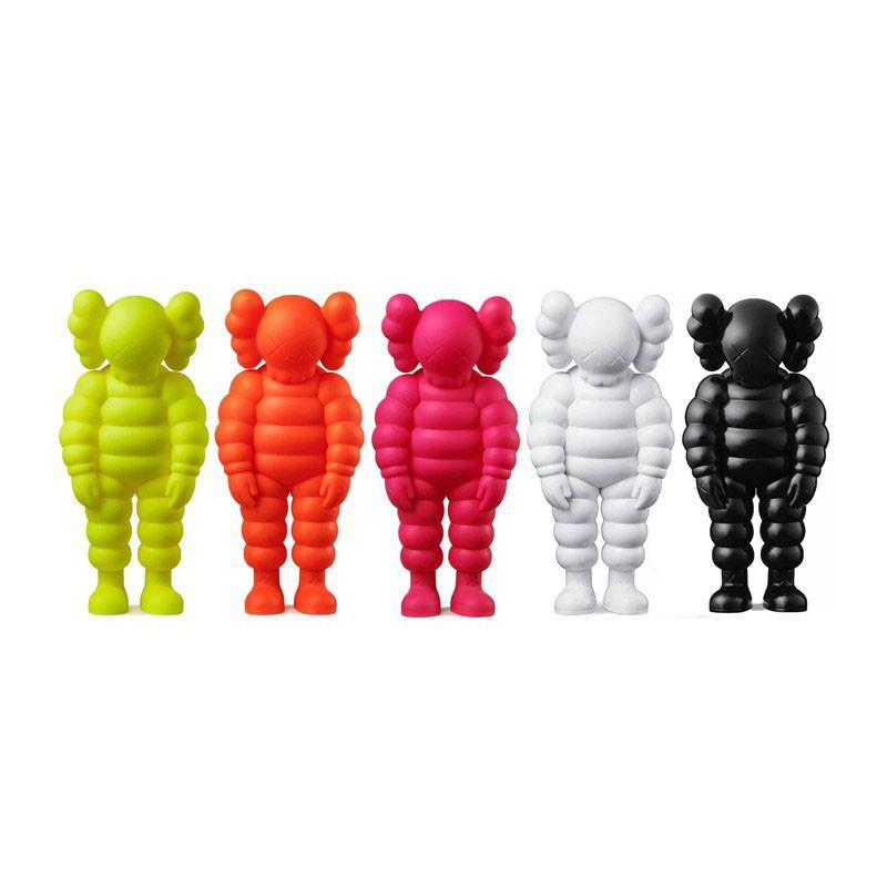2021 mais novo 30cm 0.8kg originalFake que festa chum pvc figura com caixa original kaws ação figura modelo decorações presente