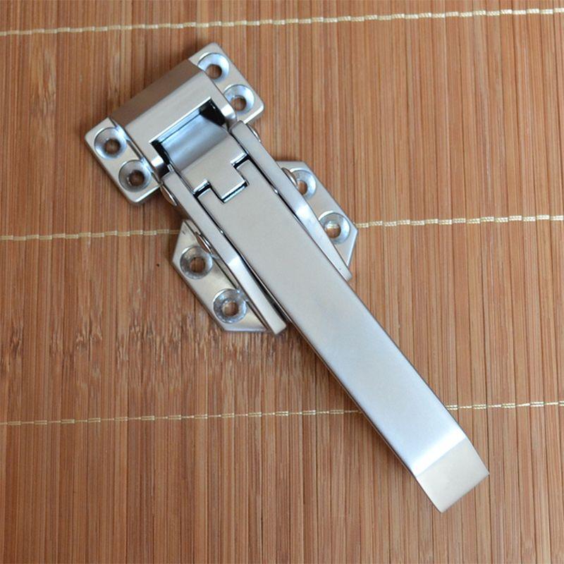 Spedizione gratuita manubrio congelatore maniglia forno porta cerniera stoccaggio a freddo porta industriale serratura fermo hardware hardware parte parte della parte industriale
