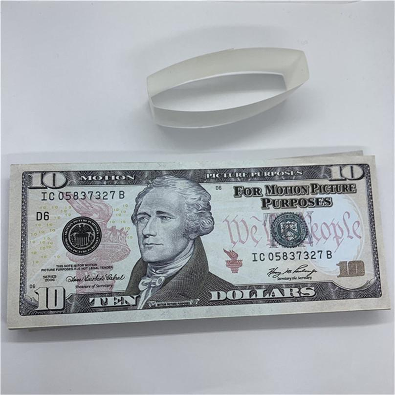 Party Real Game Currency Copy Children Fast Show Toys Props Unewa Paper T34 Money US Magic Delivery Gifts Design Hbqof