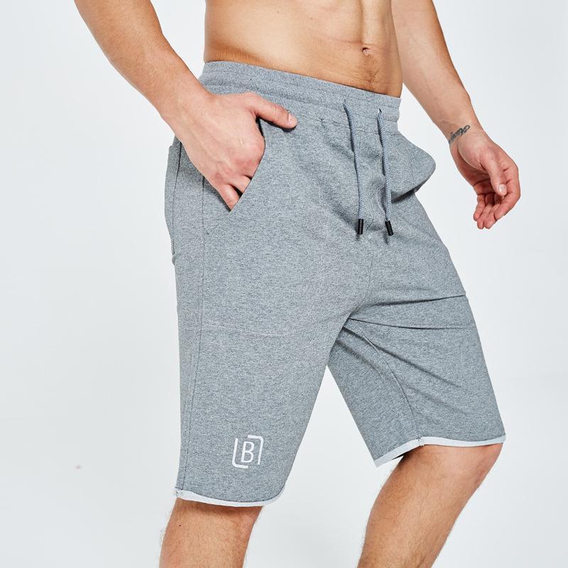 Pantalones cortos para hombre 2020 de moda de verano informal All-Matching boxer para hombre mediados de cintura transpirable para hombre Pantalones cortos