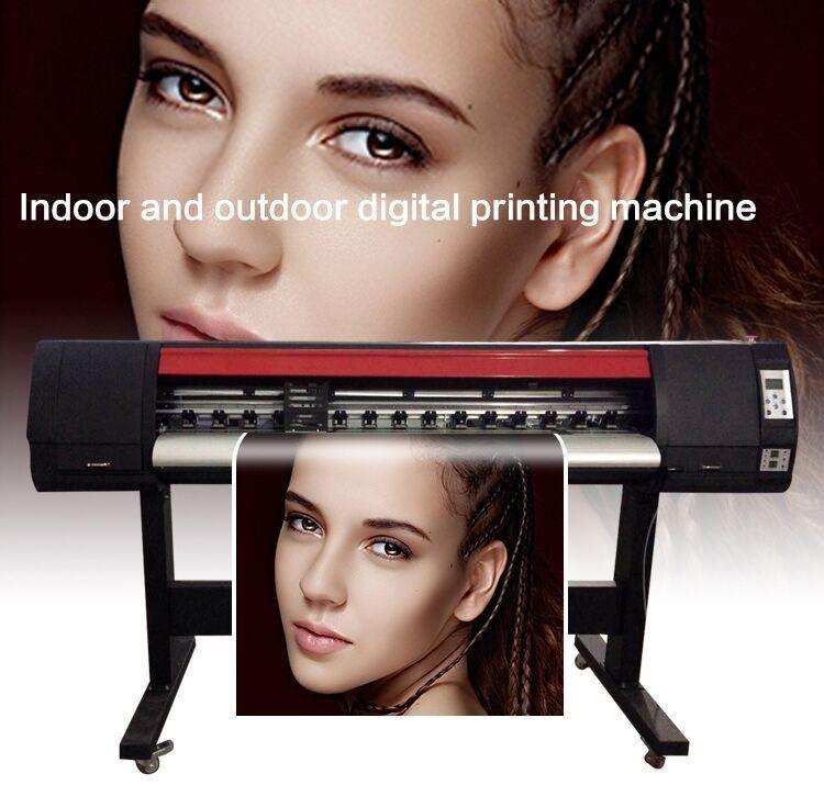 1.3M Sticker Printing Machine Xp600 Head 4Ft Outdoor Flex Banner Printer 1.2M Eco Solvent Advertising Machine
