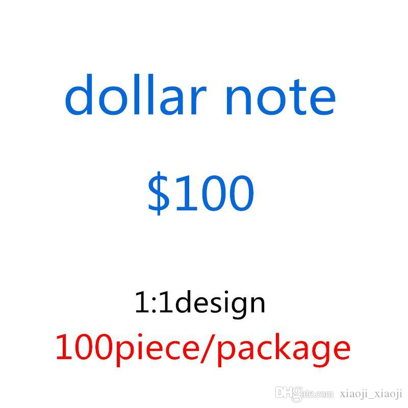 Decoración Billete Billete Mejor Calidad y Colección Caliente Venta Old Dollar Inicio Regalos Dinero EE. UU. Moneda Película Prop 100 Venta al por mayor 26 PQLQV