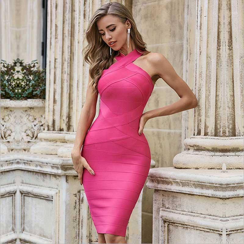 Повседневные платья оптом летнее платье женское платье без рукавов повязка сексуальная бытовая роза красная знаменитость бутик коктейль партия Bandage1
