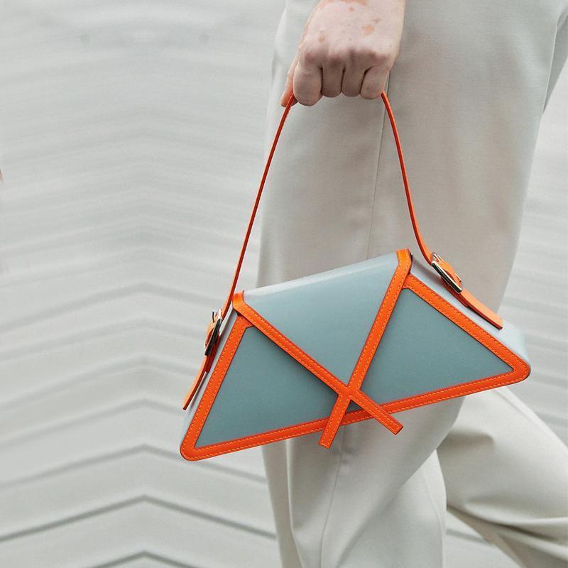 Pained 2021 Ombro Alto Saco De Couro Mulheres Moda de Qualidade de Qualidade Bolsas Bag Designer Underarm Trapezoid NShkd LCJKG