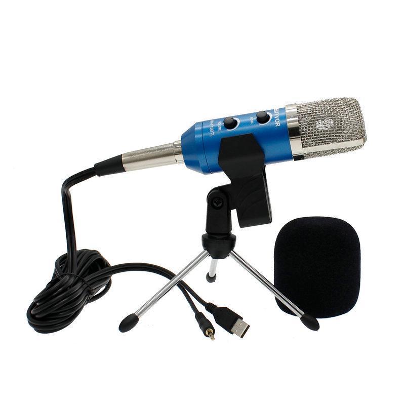Gaming Computer condensatore PC con microfono USB con treppiede per streaming, podcasting, Vocal Recording
