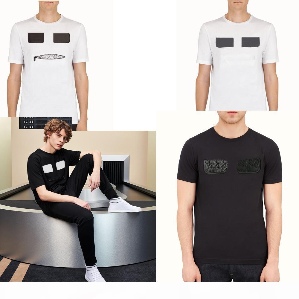 21ss italiana ROMA T-shirt Mens del progettista delle magliette di marca Abbigliamento Uomo estate delle donne di grande misura t-shirt con strass parti superiori di alta qualità