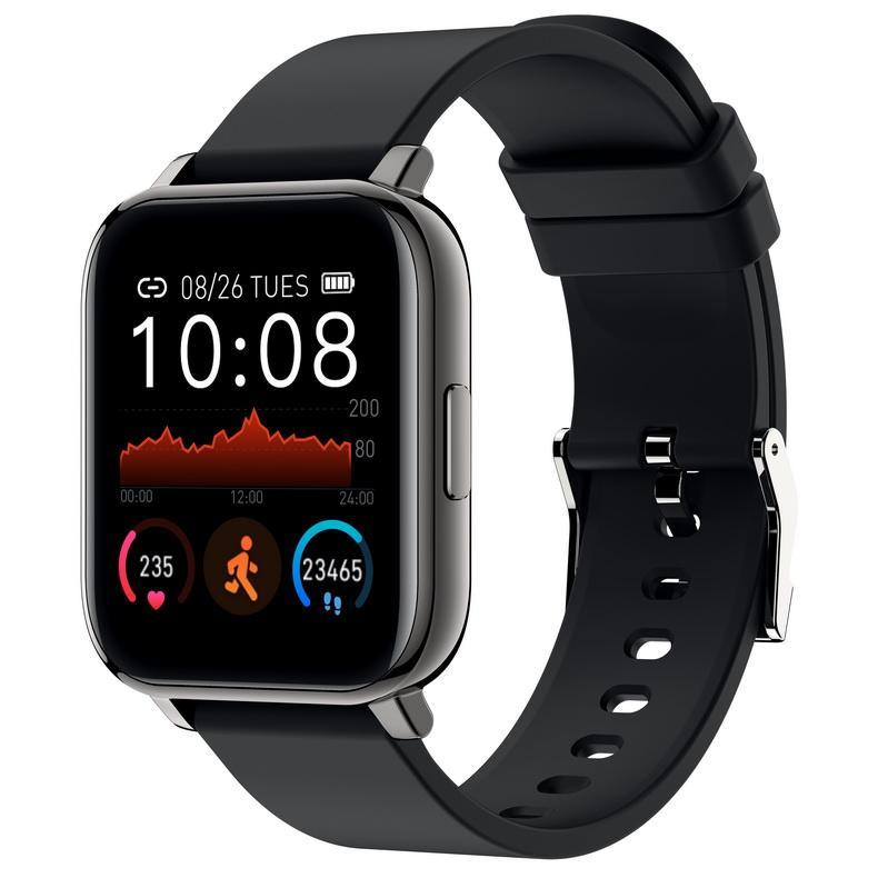 Full Touch Screen Multi Function Smart Wristbands IP67 Waterproof Fitness Tracker Sport Ring Blood Pressure Heart Rate Monitor Smartwatch For IOS & Android Phones