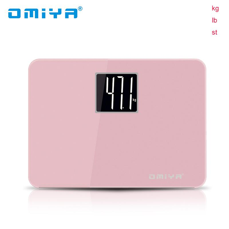Candy Цвет Портативный мини смарт весы светодиодный цифровой дисплей Вес Взвешивание пола Электронный Умный баланс тела бытовой ванной комнаты