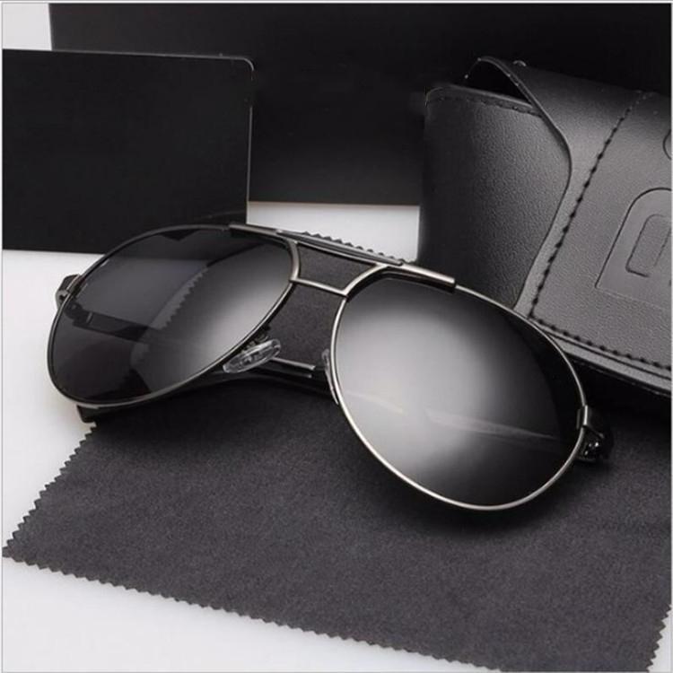 أزياء مصمم نظارات شمسية مكافحة للأشعة فوق البنفسجية الرجال والنساء الفاخرة عالية الجودة aviator القيادة 8480 إطار نظارات شمسية كبيرة مع صندوق