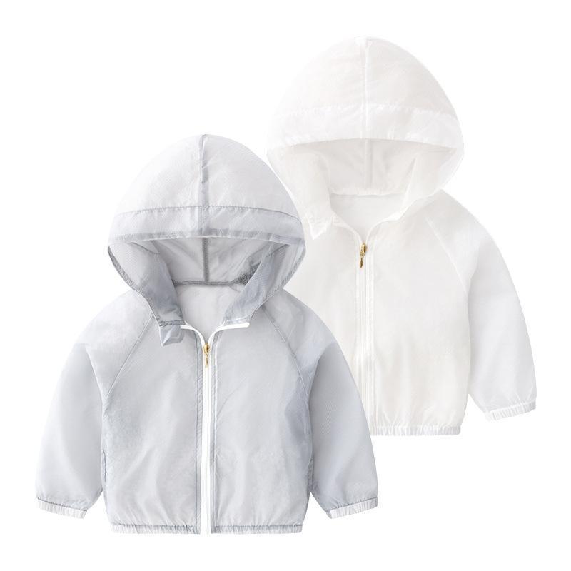 Ircomll малышей весна-лето куртка Baby Girl Boy ВС-защитной одежды Дети Outwear Кардиган Девочка отдыха Thin Толстовка