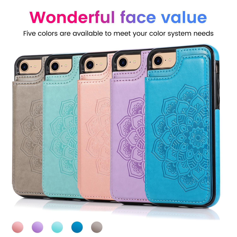 Flor de impresión forme la caja del teléfono para el iPhone Mini 12 12 / 12pro 12promax 11 / 11Pro / 11Pro Max popular manga de protección 5-Color disponible