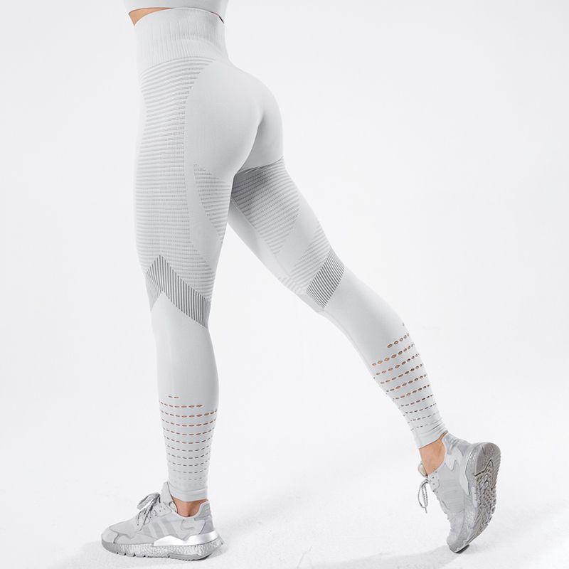 Salspor Strstringy Leggings sin fisuras Mujeres Tiburón Fitness Alto Cintura Yoga Pantalones Gimnasio Mujeres Empuje las leggings de deporte que ejecutan ropa deportiva x1227