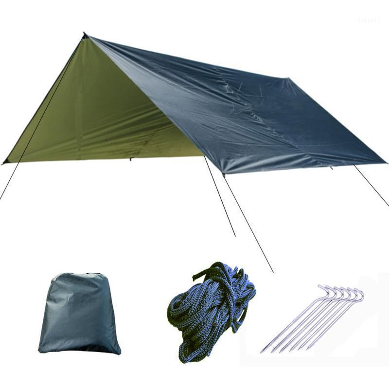 3x3 متر مظلة للماء قماش القنب خيمة الظل خفيفة حديقة مظلة مظلة الشمس التخييم أرجوحة المطر شاطئ الشمس sunter1