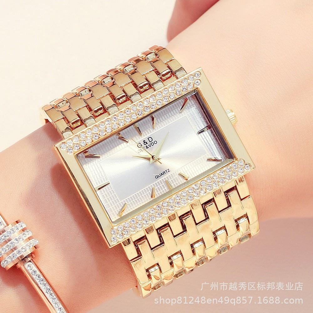 Красота D Gaishideng внешнеторговой торговли трансграничные горячие алмазные кварцевые часы мужские часы женские часы фабрика прямые продажи one piece dropshippin