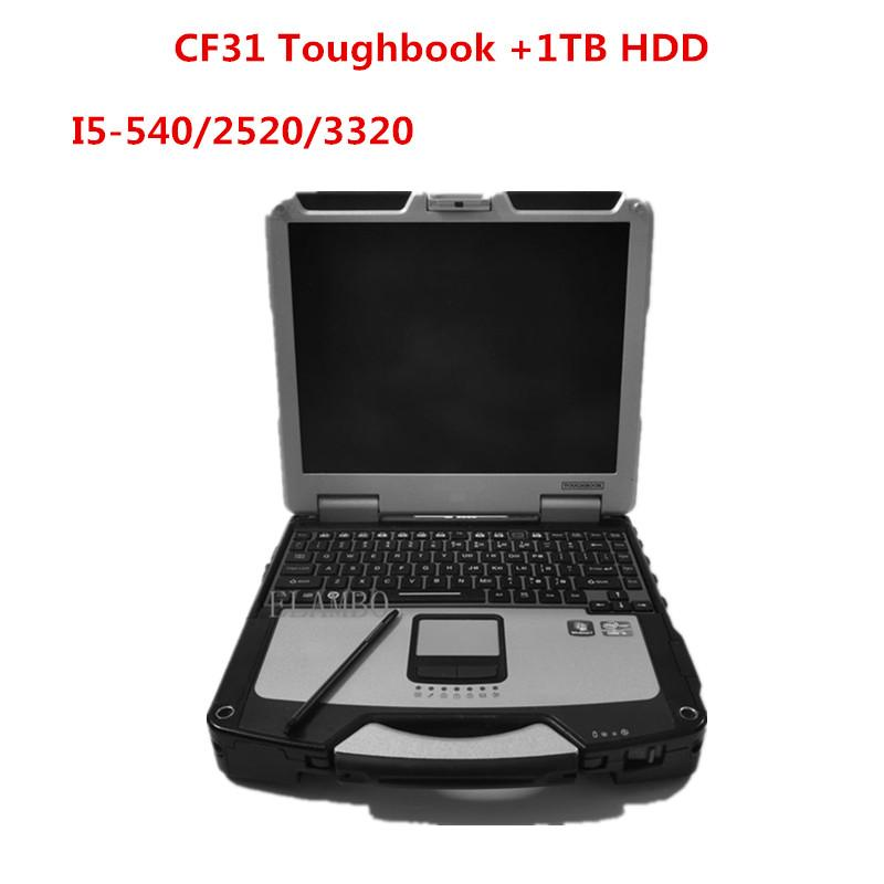 2020 Hot Diagnostic laptop for Panasonic CF-31 I5 CPU 4GB RAM with hdd can work for alldata soft-waremb star c4 c5