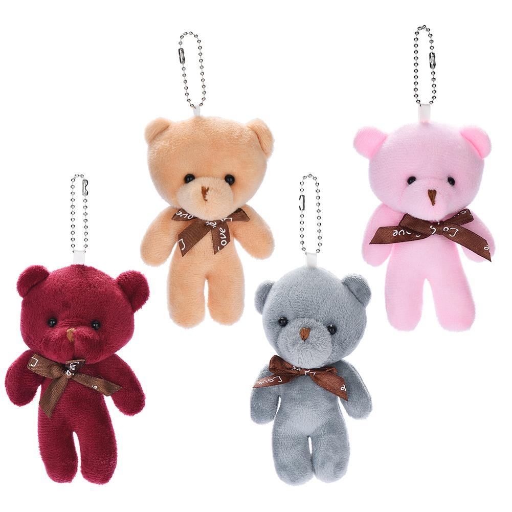 30 monete cartoon sveglio eccellente Baby Bear peluche del bambino arco pp bambola del cotone regalo di San Valentino