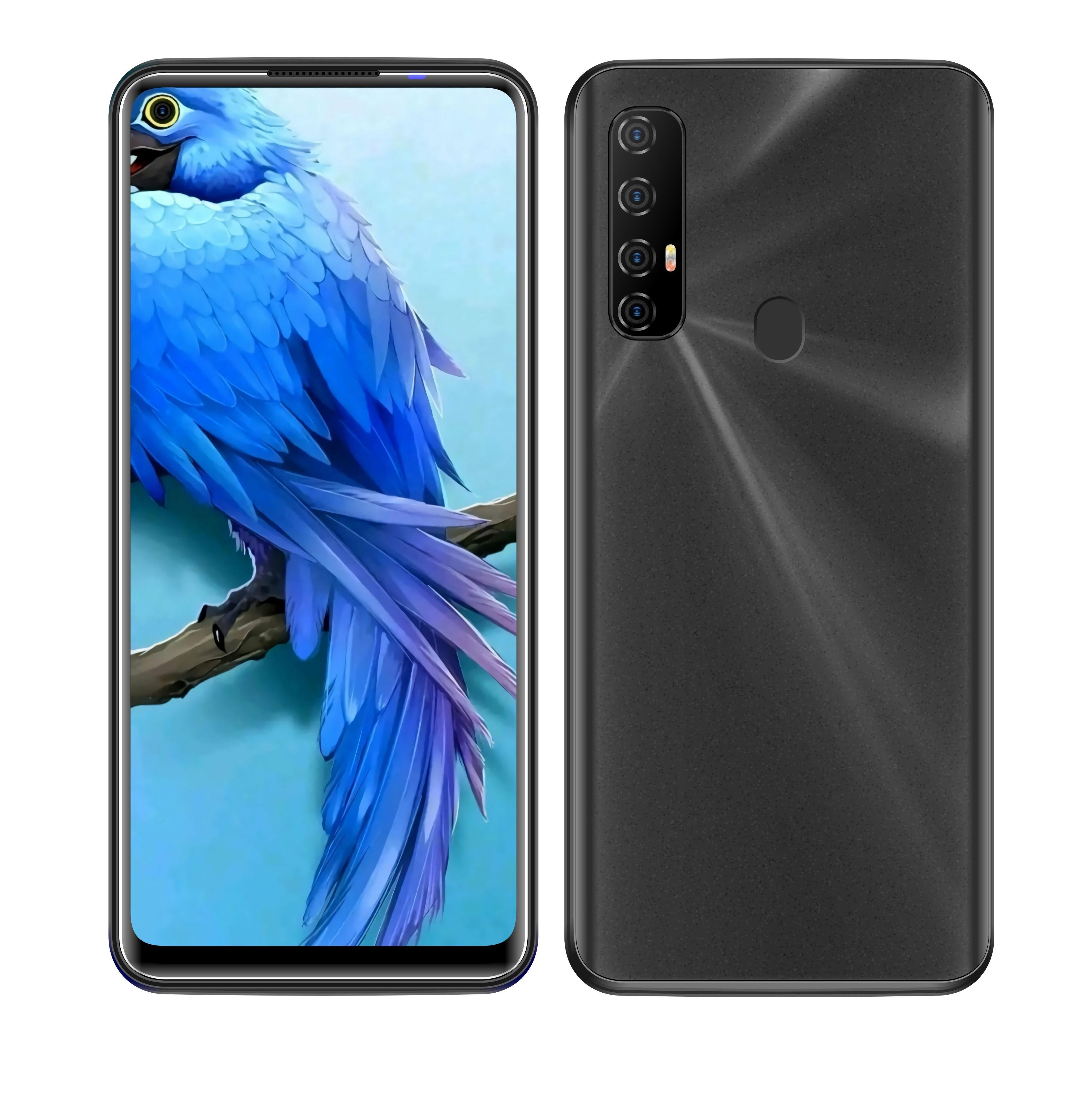phone 6.7 inch All Screen A30S 3G 4G Mobile Phone 1GB RAM 8GB ROM Face Finger Print Dual SIM Card Smart Phone