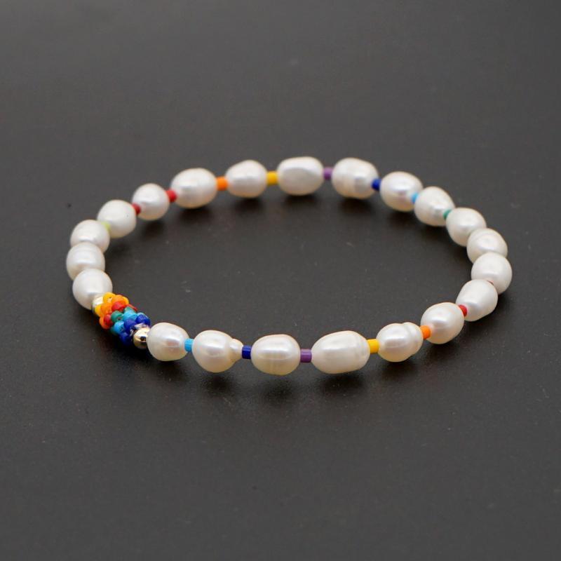 Go2Boho Bracelet For Women Boho Jewelry 2020 Rainbow Charm Bracelets Miyuki Seed Beads Freshwater Pearl Luxury Handmade Bangles
