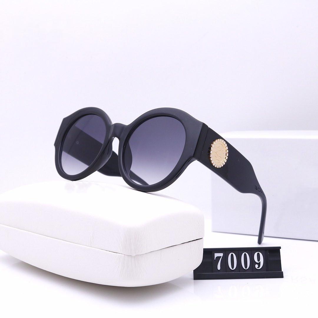 Дизайнер круглые старинные солнцезащитные очки с роскошным металлом ретро рамка пара рамы Солнцезащитные очки Gafas de sol de мода женщины коробка mujer подарок dise? Ador fpxo