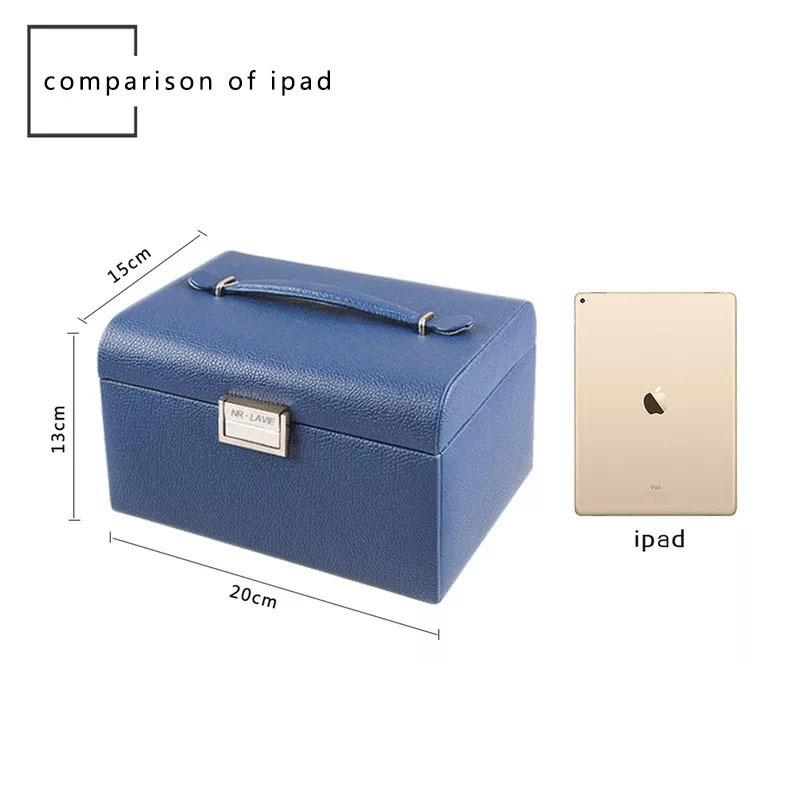 Конфеты Цвета Принцесса Кожа Ювелирные Гостики Ящик для хранения Многофункций PU Case W1219