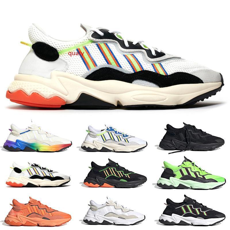 Fierté 3M réfléchissant xeno ozweego pour hommes femmes casual chaussures era pack core noyau néon vert tons de fierté formateur sport chaussures de sport taille 36-45