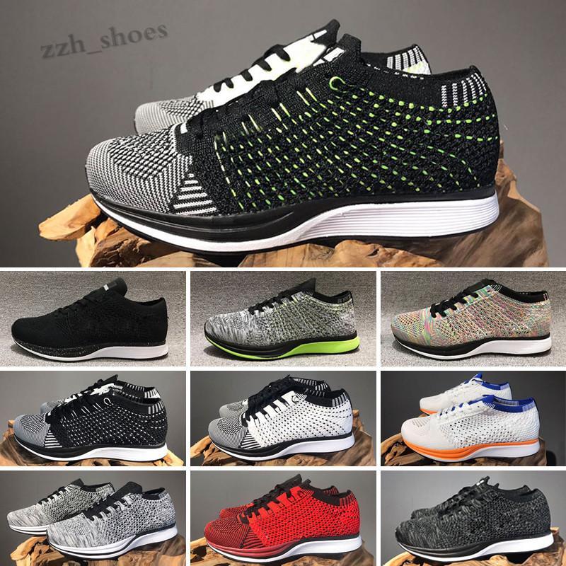 NIKE AIR ZOOM MARISH FIYKIT 1 2018 Yeni 1.0 2.0 Mesh Renkli Oreo Fly Racer Sneakers Ayakkabı Ay Ayakkabı Erkek Kadın Eğitmen Sneaker EUR 36-45 PR07