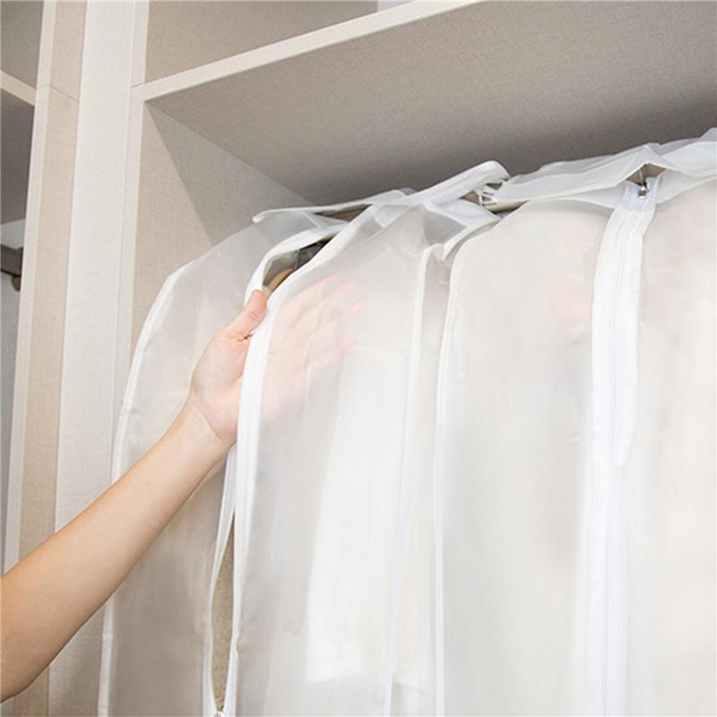 Storage Boxes & Bins Dust Proof Clothes Dress Hanging Bag Three Dimensional Transparent Coat Accessory