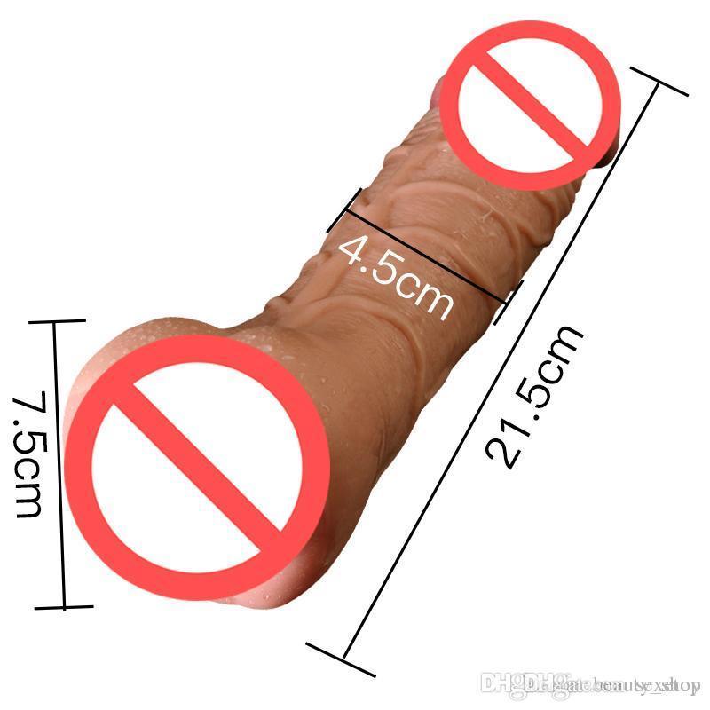 Weiche flexible Dildo Frauen realistisch für Spielzeug für Erwachsene Analprodukte Sex DFLF so masturbator künstliche weibliche dildos erotische penis ch hvai