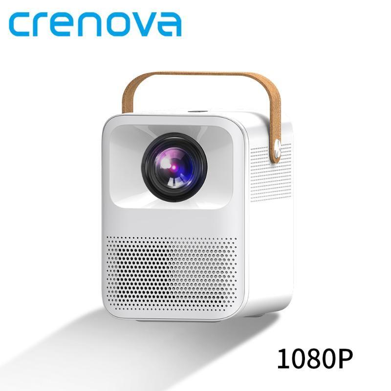 CRENOVA Портативный проектор ET30S 1080P Full HD Android Wifi 3D Мини Porjector домашний кинотеатр Поддержка 4K LED Главная видеопроектор