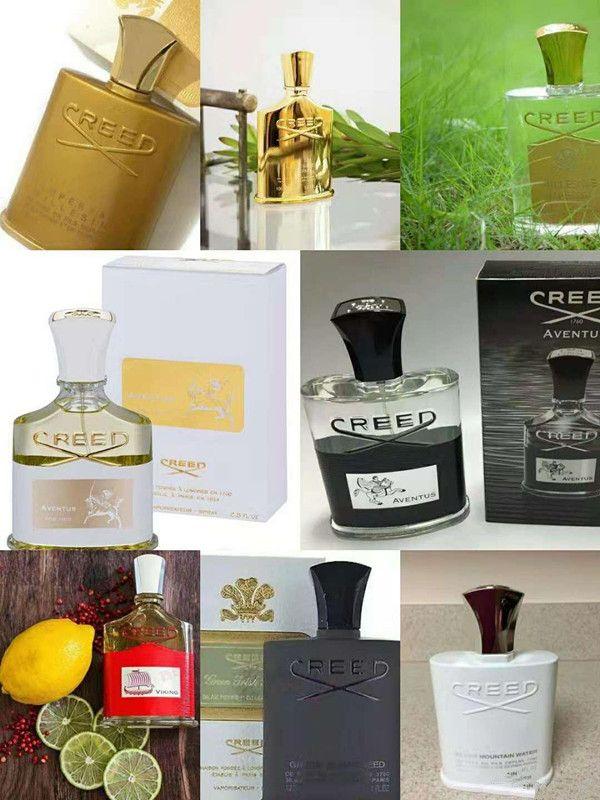 Perfume 8 Edition Creed Aventus Blue Perfume para homens Mulheres Colônia cheiro bem de boa qualidade alta capacidade de fragrância frete grátis