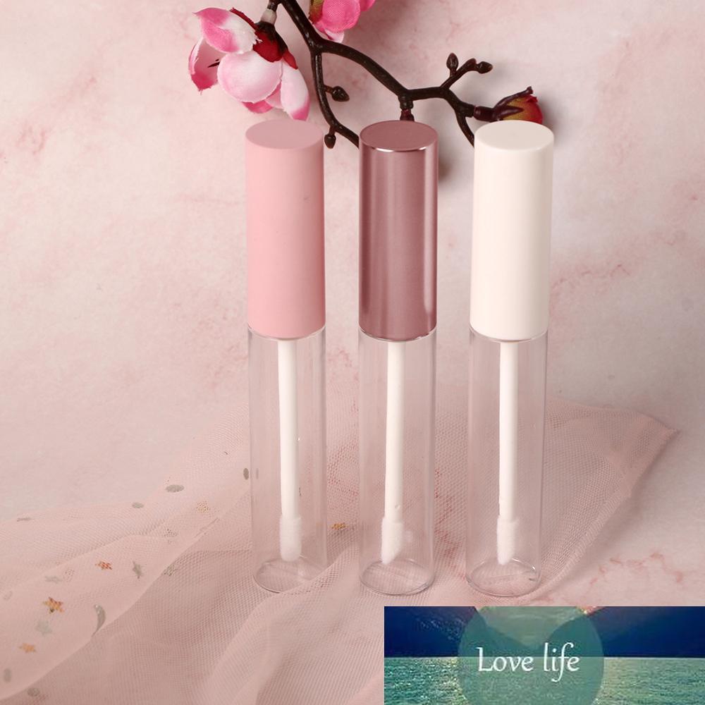 1pc 10ml Vider ronde Lip Gloss Tube avec baguette en plastique rouge à lèvres Applicateur Rechargeables Baume à lèvres Bouteilles DIY Container Nouveau Fioles