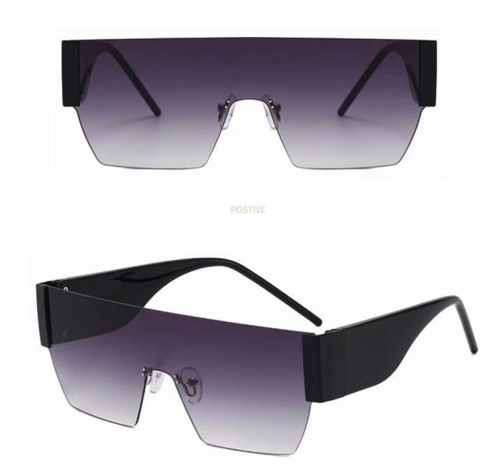 Moda Bulk Mulheres Quadro Grande Verão Praia Óculos de Sol Luxo UV 400 Travel Sol Olho De Olho Marca Designer Eyewear sem caixa