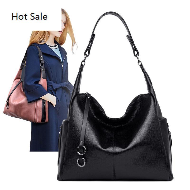 Mulheres Handbag Couro sacola grande capacidade fêmeas sacos de ombro Senhoras bolsas Messenger Bag