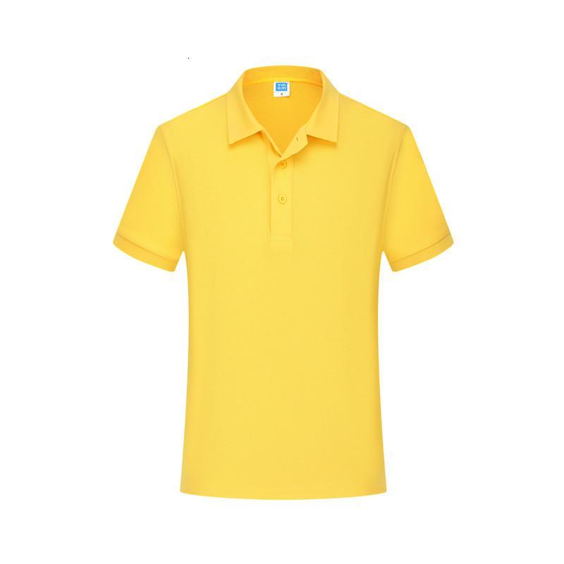 2021 Camicia da uomo Summer Polo 100% cotone Smart Style Casual Style Viola Giallo Manica Corta Slim Slim Abbigliamento maschio traspirante 4XL