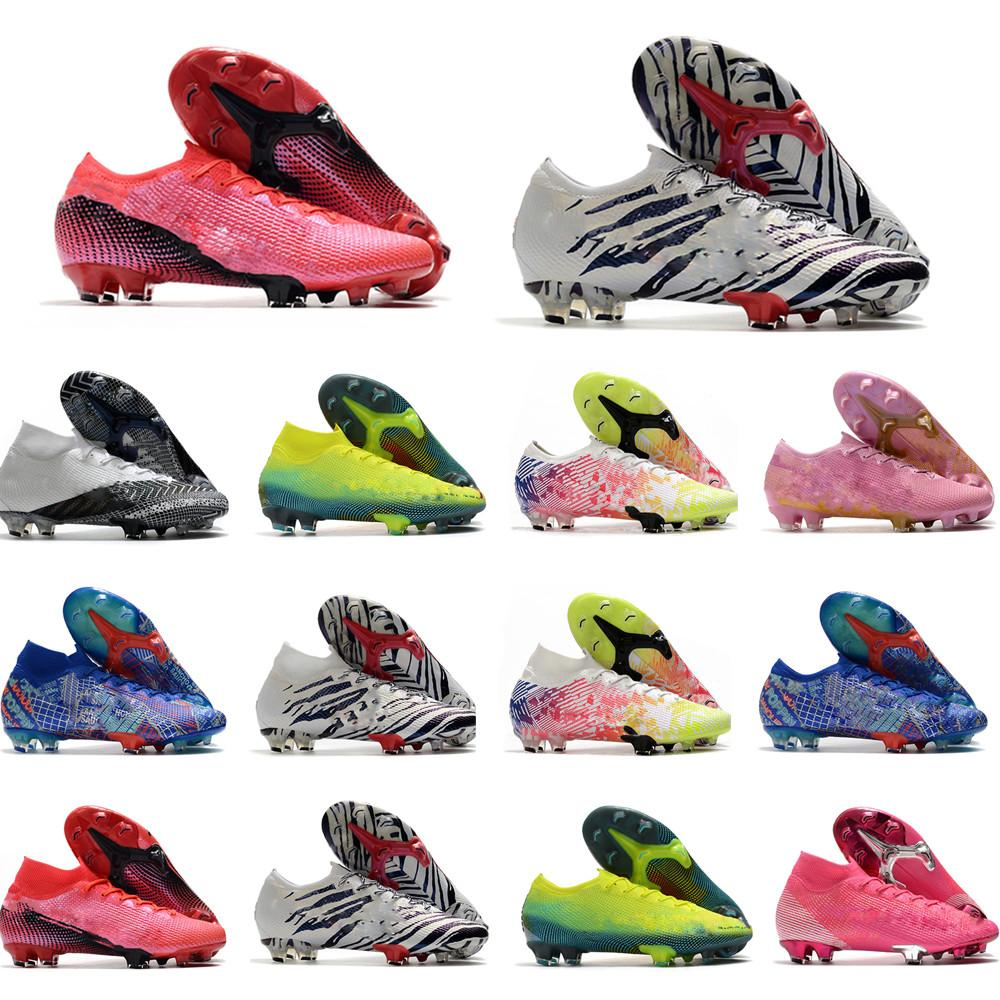 Mercurial Superfly VII 7 360 Elite SE FG CR7 Safari Ronaldo Neymar NJR Мужские футбольные ботинки Футбольные сапоги Boots Clears