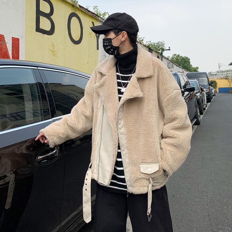 Cappotto da uomo con vestiti imbottiti in cotone Nuova tendenza in inverno 2020