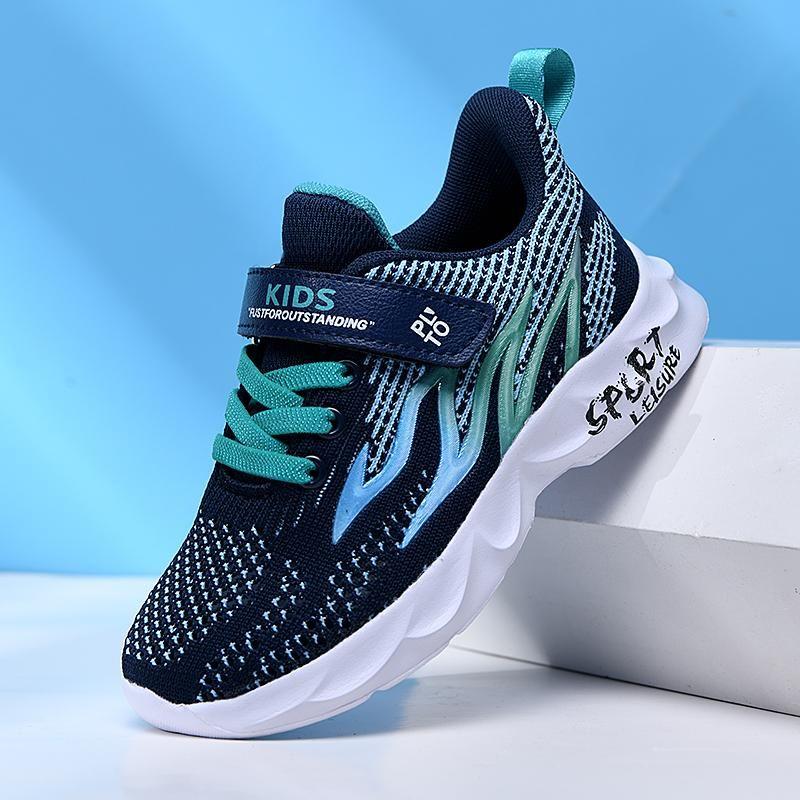 KJedGB Scarpe per bambini Scarpe in rete traspirante Comfortable Boys Running Tenis Masculino Moda Sneakers Sneakers Supporto Dropshipping