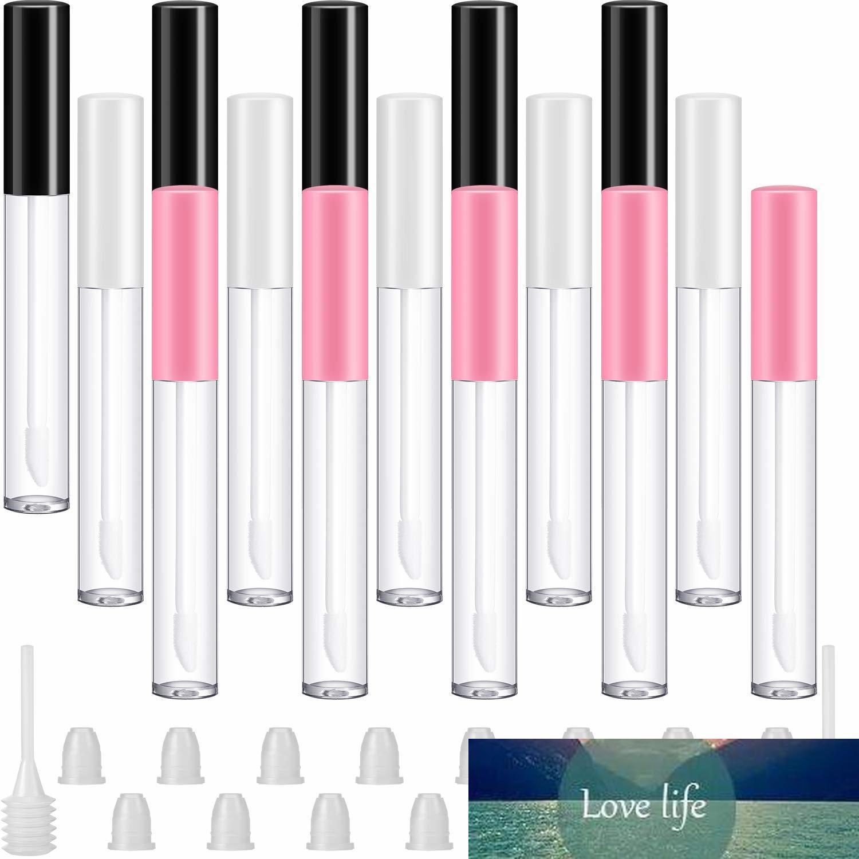 10pcs 2.5 Ml bottiglie vuote Lip Gloss tubi contenitori trasparenti Mini ricaricabile Balm Lip Gloss Rossetto Campioni trucco fai da te
