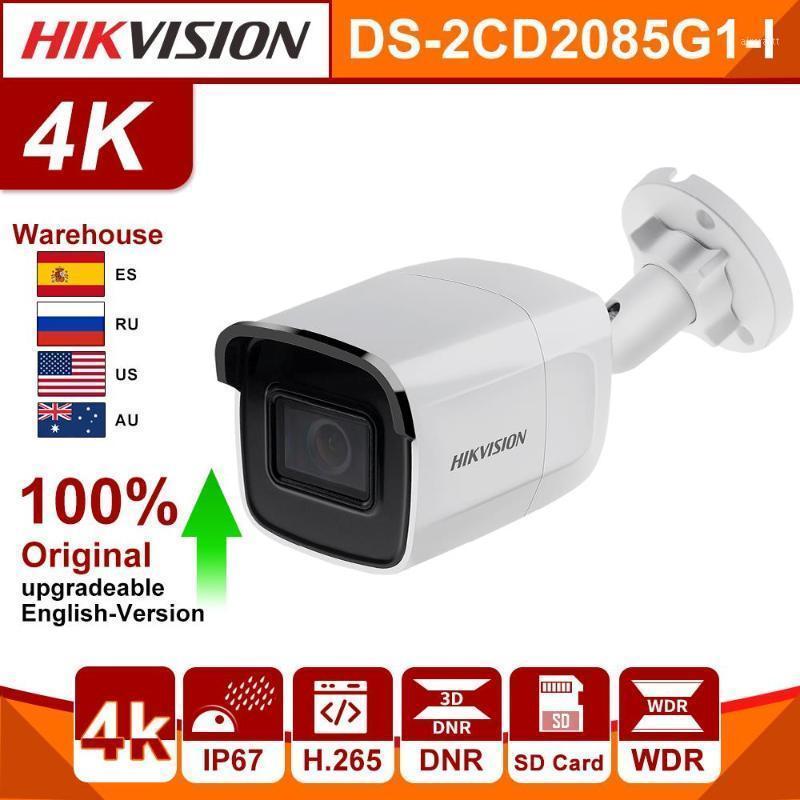 Cámara IP de HikVision original 8MP DS-2CD2085G1-I 20FPS Cámara CCTV H.265 PoE WDR Tarjeta SD Slot Darkfighter 4k1