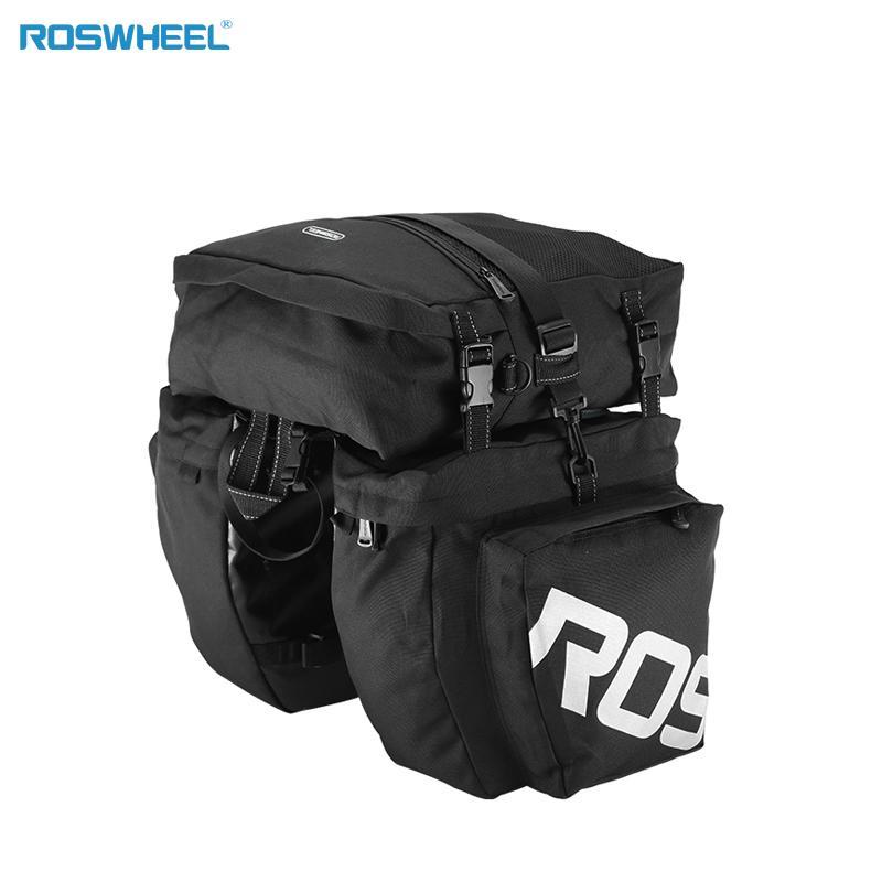 Rosheweel 37l resistente al agua trasera bicicleta durable bicicleta bolso de carga ciclismo 20116