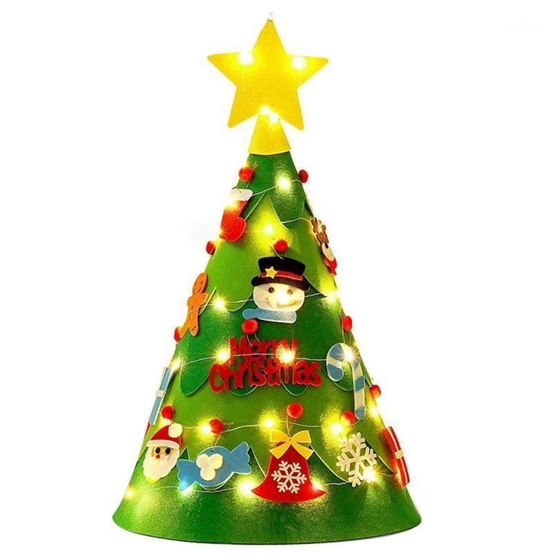 Рождественские украшения Fire Tree, Diy Дерево набор милый творческий DIY Xmas с украшениями струны светло-подарки1