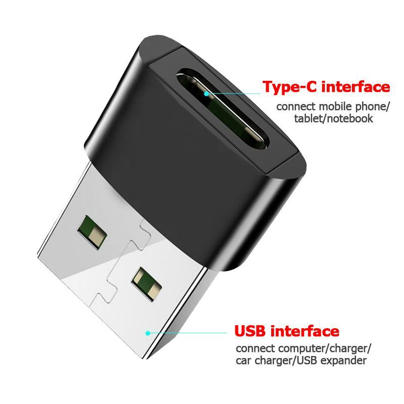 USB 3.0 ذكر إلى USB Type C أنثى OTG محول البيانات محول نوع Cable Cable محول لسامسونج Xiaomi Huawei
