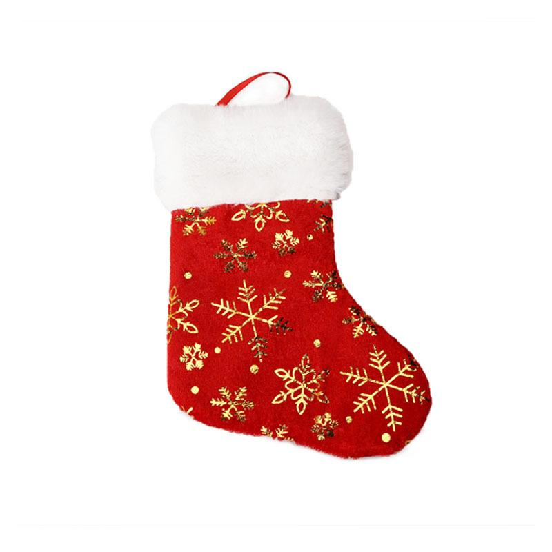 2021 new fashion Festive Decoration Christmas decorationsSanta Claus Christmas candy socks candy bags