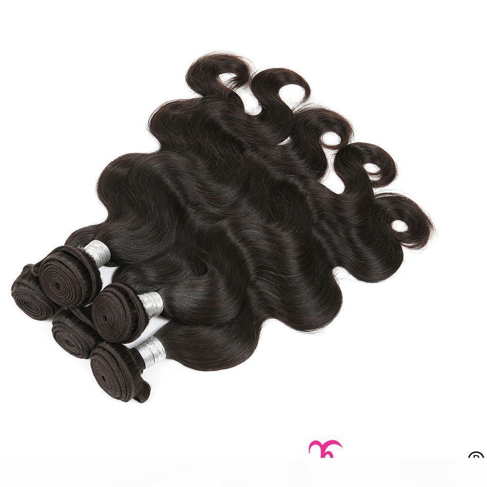 Preço de atacado de fábrica Pacotes de cabelo humano bruto indiano remy cabelo cabelo onda kinky curly reto 10-30 polegadas longas extensões de cabelo brasileiro