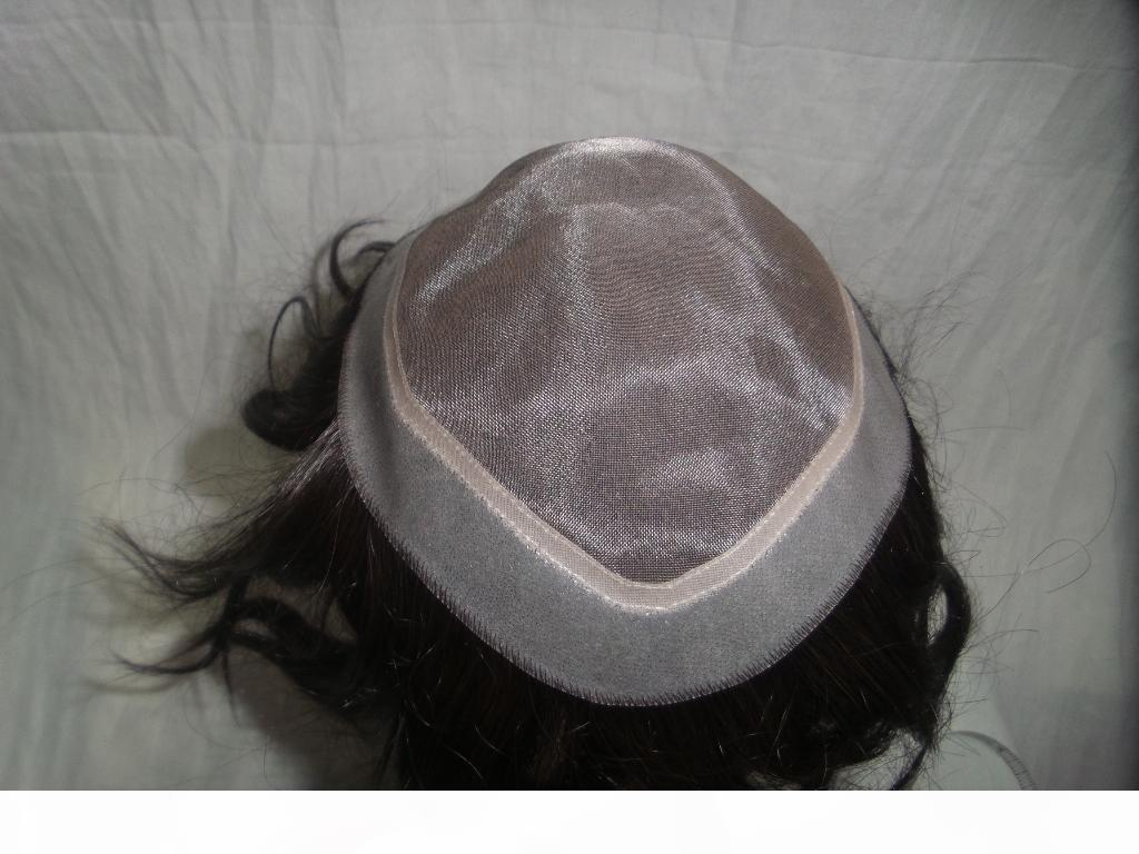 PU части волос европейские волосы полные кружевные парики цвет черные прямые волосы; 21см * 16см моно PU парики могут дизайн пользовательских хороших качеств Weave парики